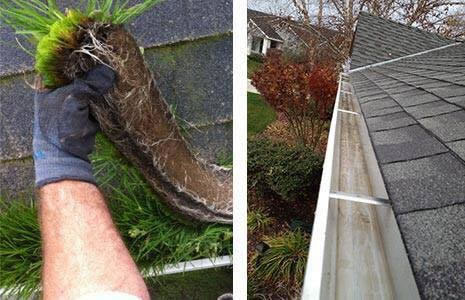 wirral clear shine dirty gutters